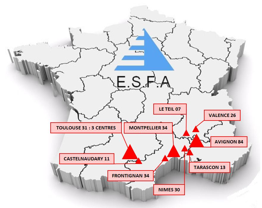 Centres ESFA