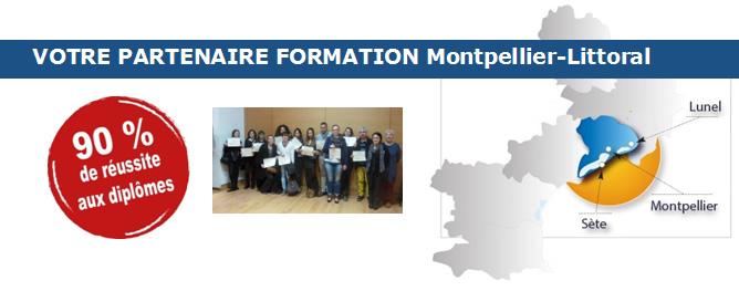 VOTRE PARTENAIRE FORMATION Montpellier-Littoral