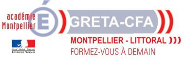 Le GRETA Montpellier Littoral recrute pour une entreprise partenaire