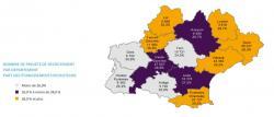 Les besoins en main-d'œuvre 2018 dans les 5 départements de l'ex-région Languedoc-Roussillon