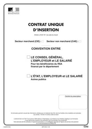 Le Contrat Unique D Insertion Cui Carriere Emploi Lr