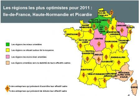 Regain d'optimisme sur le marché de l'emploi Cadres en Languedoc Roussillon
