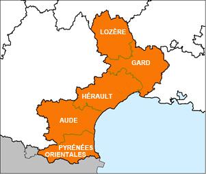 Les 10 plus gros employeurs des départements du Languedoc Roussillon.