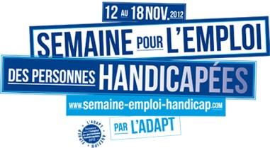 16e Semaine pour l'emploi des personnes handicapées