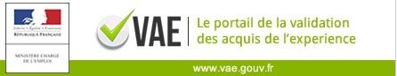 Nouveau portail internet sur la validation des acquis de l'expérience (VAE)
