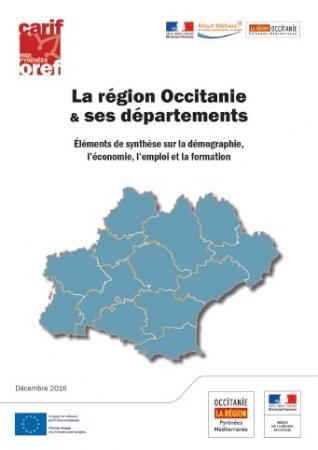 Démographie, économie, emploi et formation dans les départements de l'Occitanie