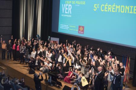 Les lauréats 2017 du concours Coup de Pousse de la région Occitanie /Pyrénées-Méditerranée