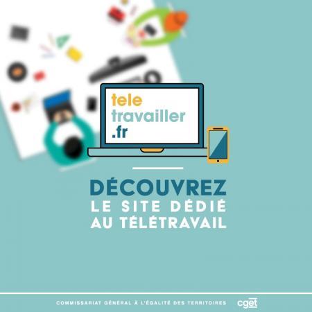 Création d'un site gouvernemental dédié au télétravail