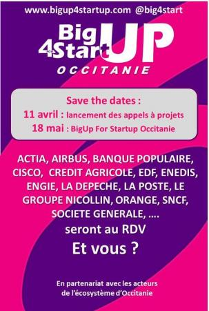 Lancement de BigUp For Startup en Occitanie