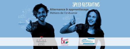 #SpeedRecruiting Industrie le 20/9 : 30 entreprises à la recherche d'apprenti(e)s
