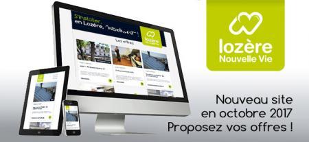 Lancement du nouveau site lozerenouvellevie.com, pour proposer de « nouvelles vies » en Lozère