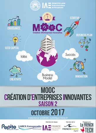 L'Université de Montpellier propose une 2nde version de son MOOC sur la création d'entreprises innovantes.