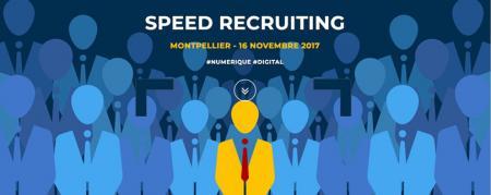 Speed Recruiting dédié aux métiers digitaux et IT le 16 novembre à Montpellier : 80 postes à pourvoir