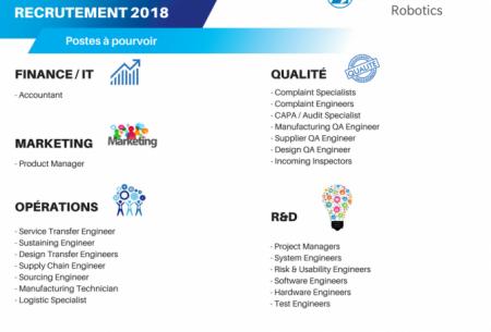 MedTech : une nouvelle DG, et 50 recrutements en 2018