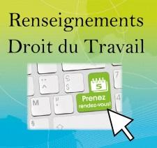 Besoin d'un renseignement en droit du travail ? Prenez rendez-vous en ligne sur le site de la Direccte Occitanie !