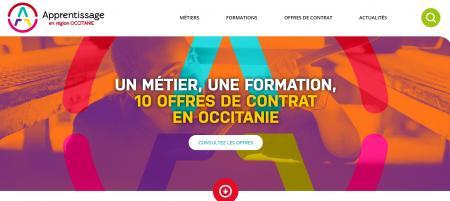 Le nouveau portail régional de l'apprentissage en Occitanie est en ligne.