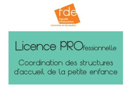 Nouvelle licence pro à Perpignan : coordination des structures d'accueil de la petite enfance