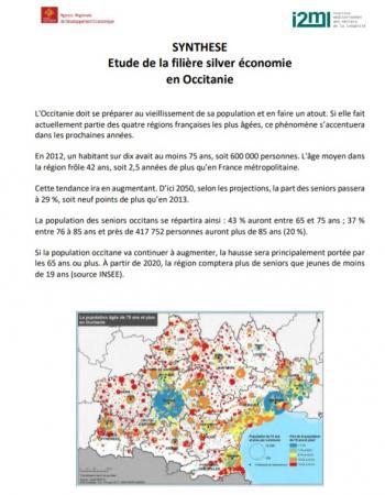 Parution d'une étude stratégique sur la silver économie occitane