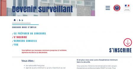 Le ministère de la Justice recrute plus de 1000 surveillants pénitentiaires : inscription jusqu'au 17 octobre