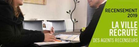 La Ville de Montpellier recrute des agents recenseurs.