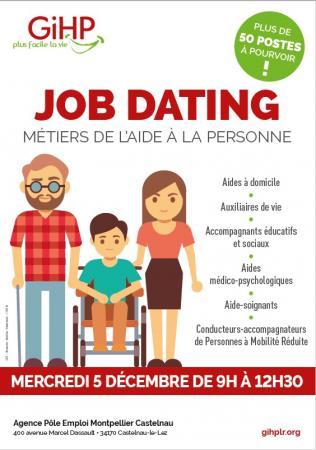 Job dating du GIHP le 5 décembre : plus de 50 postes à pourvoir dans l'Hérault