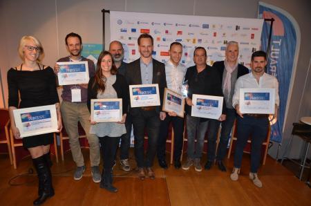 8 entreprises mises à l'honneur lors de la finale de la 16e édition du Prix de la TPE