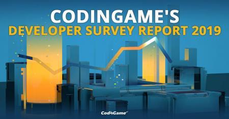 CodinGame publie son rapport 2019 sur le métier de développeur.