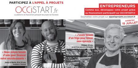 Créer ou développer un projet en Occitanie : appel à projets collaboratifs Occistart jusqu'au 15 juillet