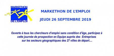 MARKETHON de l'emploi en Occitanie le 26 septembre 2019