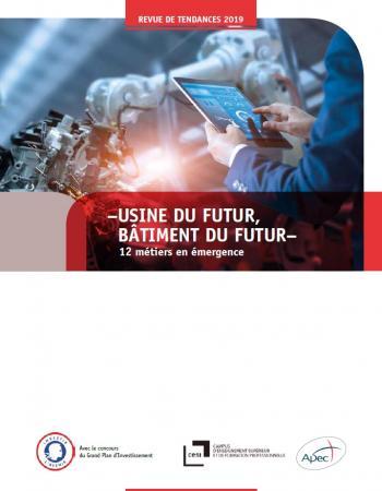 Les 12 métiers en émergence pour l'usine et le bâtiment du futur