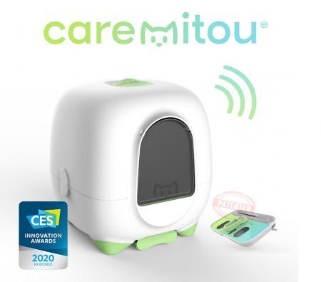 Novandsat reçoit un CES Innovation Award 2020 pour Caremitou®, la 1re maison e-santé pour chat.