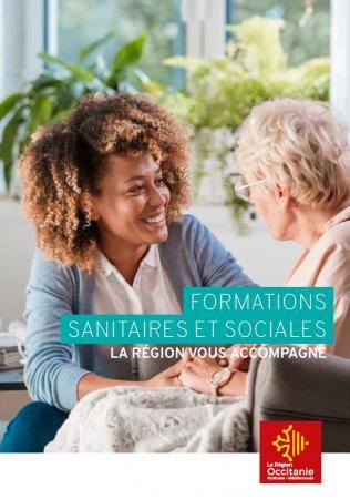 « Formations sanitaires et sociales, la Région vous accompagne »