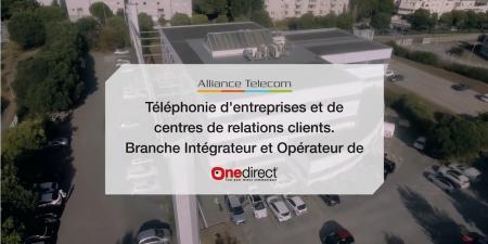 Alliance Telecom intègre le groupe Onedirect.