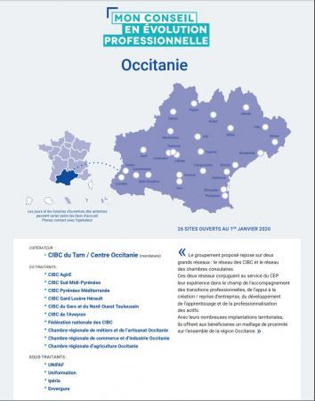 Conseil en évolution professionnelle pour les actifs occupés : l'opérateur est désigné en Occitanie
