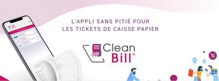 Clean Bill lance sa solution de dématérialisation des tickets de caisse.