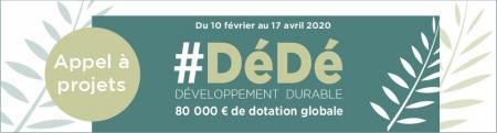 Appel à projets #DéDé (Développement Durable) de Nîmes Métropole : candidatures jusqu'au 17 avril
