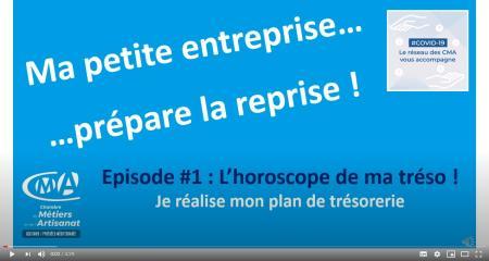 [COVID-19] « Ma petite entreprise prépare la reprise » : des capsules vidéo proposées par la CRMA Occitanie