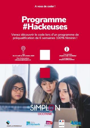Lancement de la 1re promotion #Hackeuses sur Alès, un parcours de formation numérique réservé aux femmes