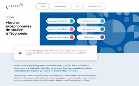 [COVID-19] L'Urssaf lance un mini-site pour informer les entreprises et entrepreneurs sur les nouvelles mesures d'exonération