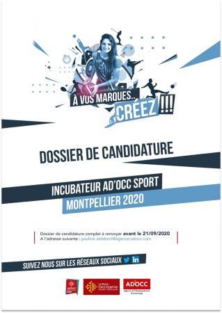 38e promotion du programme d'incubation AD'OCC Sport à Montpellier : candidatures jusqu'au 21 septembre