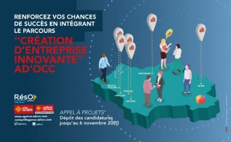 Entreprises innovantes : les pépinières AD'OCC lancent un appel à projets, candidatures jusqu'au 6 novembre