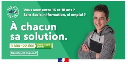 0 800 122 500 : le numéro gratuit pour les 16-18 ans qui ne sont ni en études, ni en formation, ni en emploi