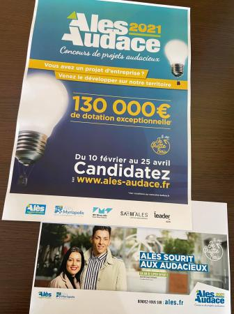 Concours Alès Audace 2021 : candidatures jusqu'au 25 avril 2021
