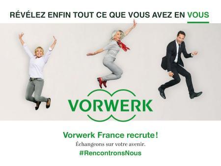 Vorwerk France recrute plus de 550 conseillers de vente en Occitanie pour ses agences Thermomix® et Kobold.