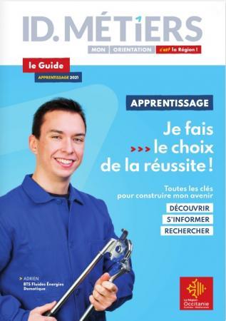 Publication du guide de l'apprentissage 2021 en Occitanie