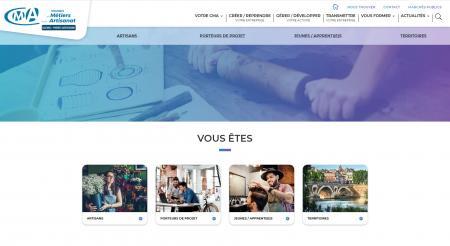 La Chambre de métiers et de l'artisanat de région Occitanie lance son nouveau site internet au service des entreprises et des collectivités.