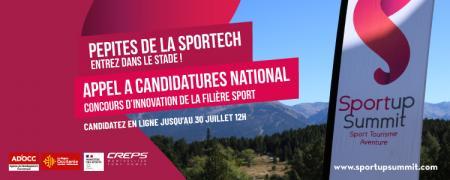 5e édition du Sportup Summit : candidatures jusqu'au 30 juillet