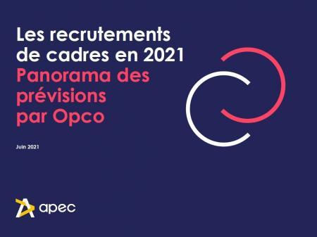 Recrutements de cadres en 2021 : faits saillants pour l'Occitanie et panorama des prévisions par Opco