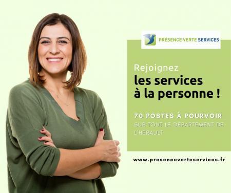 Présence Verte Services : plus de 70 postes à pourvoir dans l'Hérault