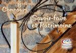 8e concours Savoir-Faire et Patrimoine